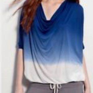Young Fabulous & Broke blue ombré dolman medium